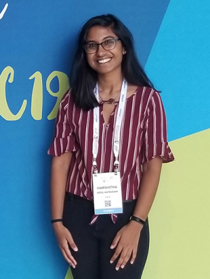 Harshitha Arul Murugan is president of the UCSC branch of Girls Who Code.