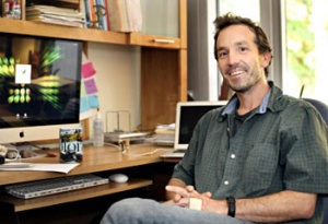 Bioinformatics expert Joshua Stuart leads the Pan-Cancer Initiative. (Photo by Kevin Johnson/Sentinel)