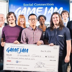 The UC Santa Cruz team won the Social Connection GameJam competition at E3 2016.