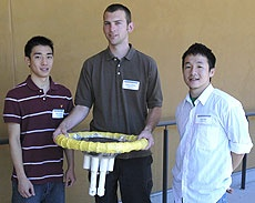 Engineering students present senior design projects