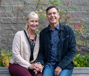 A gift from Bud and Rebecca Colligan is providing crucial funding to expand COVID-19 testing capacity and construct a new, dedicated laboratory space to house the diagnostic lab at the UCSC Genomics Institute. (Photo by Carolyn Lagattuta)