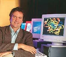 Haussler honored by computer science group as an innovator who changed the scientific world