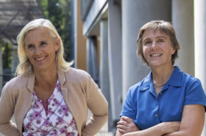 Camilla Forsberg and Lindsay Hinck are co-directors of the Institute for the Biology of Stem Cells at UCSC.