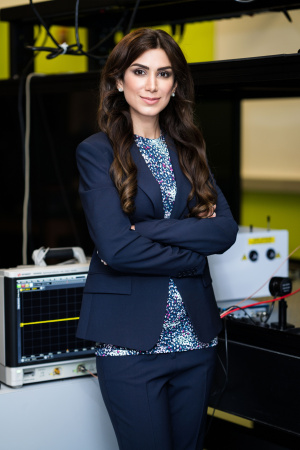 Shiva Abbaszadeh, assistant professor of electrical and computer engineering (image courtesy of Christopher C. Lee @chrisclee.ig)