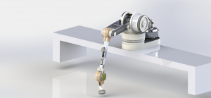 ARbot, a recycling robot designed by the first place winners of the UCSC IDEA Hub Pitch Contest