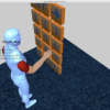 Interface for a number-entering game, implemented with CHAI 3D libraries,  that tests coordination and evaluates performance based on the number of deletes required to enter the number.